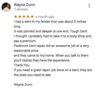 mobile dent repair charlotte nc